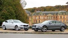 Essai Audi A5 Sportback vs BMW Série 3 GT : Carrosseries alternatives
