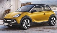 Avec l'Adam Rocks, Opel invente la citadine baroudeuse et découvrable
