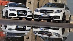 Essai Audi RS6 Avant vs. Mercedes E63 S AMG Break : Familiales pour pères pressés