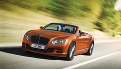 Bentley Continental GT Speed et Flying Spur, efficience et puissance pour 2014
