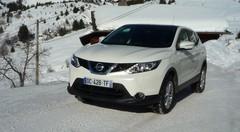 Essai Nissan Qashqai 2014 à la montagne