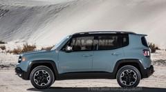 Le Jeep Renegade montre sa petite bouille de 4x4