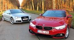 Essai Audi A5 2.0 TDI vs BMW 420d : Tout en style et en muscle !