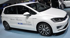 Volkswagen Golf Sportsvan en détails au Salon de Genève