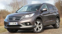 Essai Honda CR-V 1.6 i-DTEC Executive Navi