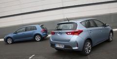 Toyota Auris HSD contre Golf TDI Bluemotion : la bataille du CO2