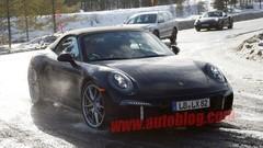 Une Porsche 911 mystérieuse en test Grand froid