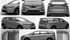 Renault X-Space : Confirmation en noir et blanc