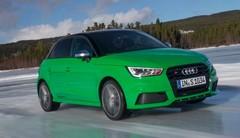 Essai Audi S1 Sportback : green hornet on ice