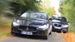 Essai Maserati Ghibli 3.0D 275 ch vs Jaguar XF 3.0D S 275 ch : Différences