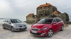 Essai Peugeot 308 SW vs Volkswagen Golf SW (2014) : quel break choisir ?