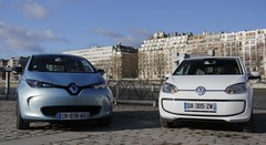 Essai Renault Zoé vs Volkswagen e-Up! : deux philosophies