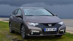 Essai Honda Civic Tourer 2014 en Normandie