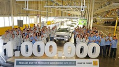Un million de Duster pour Renault et Dacia