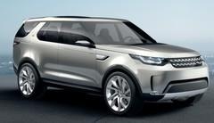 Land Rover Discovery Vision Concept : L'heure est à l'ouverture