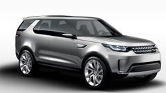 Land Rover Discovery Vision Concept 2014 : design Range, et technologies à foison
