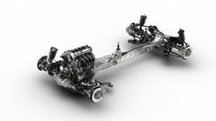 Le châssis de la future Mazda MX-5