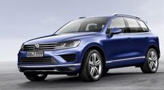 Le Volkswagen Touareg restylé de sortie à Pékin