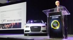 Après la VW Golf en 2013, l'Audi A3 élue voiture mondiale de l'année 2014