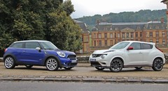 Essai Nissan Juke Nismo vs Mini Paceman Cooper S