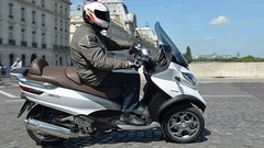 Essai Scooter Piaggio MP3 LT 500 ABS ASR