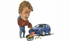 Le budget de l'automobiliste en baisse