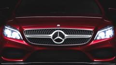 Mercedes CLS restylée: l'instant teasing
