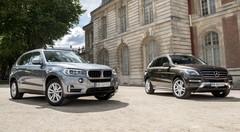 Essai BMW X5 25d vs Mercedes ML 250 BlueTEC : le match des 4 cylindres !