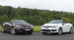 Essai Opel Cascada vs Renault Mégane CC : recette de saison