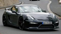 Porsche : le Cayman GT4 surpris presque nu !