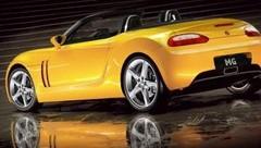 MG prépare un nouveau roadster