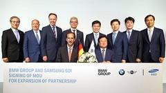 BMW et Samsung SDI renforcent leur partenariat