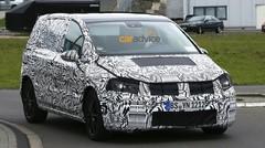 Le nouveau VW Touran sur les routes