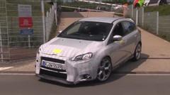 La future Ford Focus RS surprise sur le Nürburgring