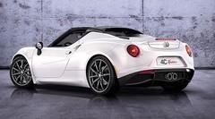 L'Alfa Romeo 4C Spider de série sera au Mondial de Paris