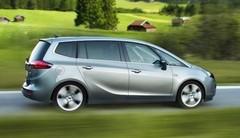 L'Opel Zafira Tourer hérite d'un nouveau moteur diesel