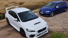 Essai Subaru WRX STI et Volkswagen Golf R : amusante ou efficace ?