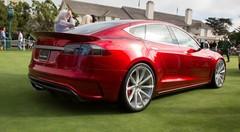Pebble Beach 2014: Saleen Tesla FourSixteen