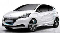 Peugeot 208 HYbrid Air 2L : l'hybridation citadine présentée à Paris