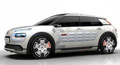 Citroën C4 Cactus Airflow, démonstrateur hybride-air 2 l/100 km