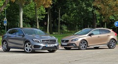 Essai Mercedes GLA vs. Volvo V40 Cross Country : Baroudeurs chics