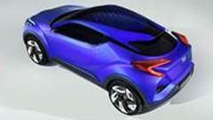 Toyota C-HR, le concept hybride