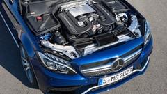 Mercedes C63 AMG 2015, ouf, un V8 !