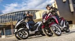 Essai : Yamaha et MBK investissent le monde du trois-roues