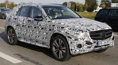 Le futur Mercedes GLK vu de l'intérieur !