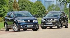Essai Nissan X-Trail vs Fiat Freemont : Tarifs imbattables au mètre carré