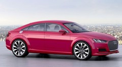 Audi TT Sportback, version allongée