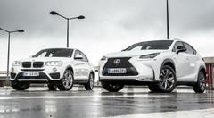 Essai : Le Lexus NX hybride affronte le BMW X4