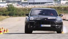 Le Porsche Macan échoue au test de l'élan