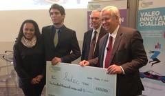 Le projet gagnant du Valeo Innovation Challenge est ... mécanique !